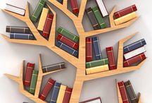 Bücherschrank/Baum