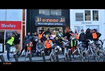 Initiation et randonnée en VLE (véhicule léger électrique) / Des initiatives pour promouvoir la mobilité en trottinette électrique, gyropode ou monocycle électrique. On aime!