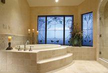 Natural Stone Travertine Bathroom / Natural Stone Travertine Bathroom