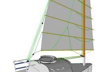 micro sailing boat
