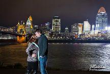 Cincinnati Skyline Engagement/Wedding Photography / Cincinnati Skyline Engagement/Wedding Photography by Maxim Photo Studio https://maximphotostudio.com / by Maxim Photo Studio