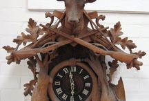 Carved Cuckoo Clocks