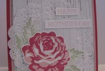Stampin Up - A Rose is a Rose (retired) (W)
