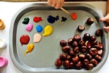 The learning and the playing / Zabawy sensoryczne, nauka, zabawy z dziećmi