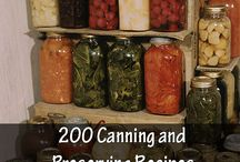 Canning preserving / Fruit Vegetabele