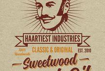 Packaging Hair & Beard Products / Hairproducts - Hairstyle - Packaging All Design & Graphics by Artwerk www.artwerk.be