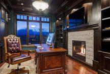 basement fireplace ideas