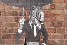 Street Art in East London / Street art around East London
