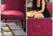 Наша ткань на вашей мебели)!