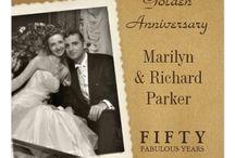 Bodas de oro / Aniversario de bodas 50 años