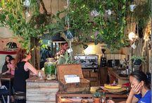 Pflanzen im Restaurant