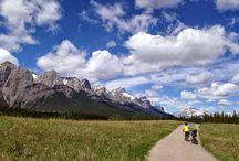 Biking in Alberta