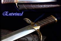 Athame by FableBlades / Athame Ceremonial Daggers for pagan alter divination pagan witchcraft wicca occult