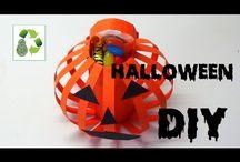 Ideas para Halloween - DIY Halloween / Ideas para Halloween #reciclaje #diy #manualidades #halloween DIY