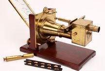 The Solar Microscope / The solar microscope was one of the worlds first projectors. It used sunlight  to project images of microscope specimens onto a board. They were used in lecture theatres as well as by scientists of the day. This board is dedicated to this early form of microscopy