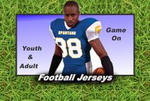 Football Jerseys / Football Jerseys at Graham Sporting Goods. Jerseys  for Games and Practice. Huge Selection of Football Uniforms at Graham Sporting Goods.
