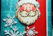 Cards - Christmas Santa