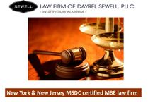 LAW FIRM OF DAYREL SEWELL, PLLC