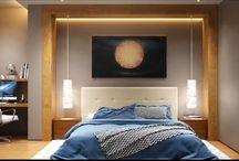 спальни современные