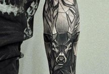 deer tattoo