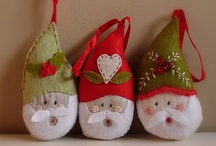 Christmas Crafts - Felt / by MerryStockings .com