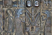 African Doors / Tradional door from Africa. Dogon ( Mali) ... And others #door #africa