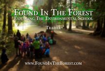 Forest Kindergarten inspiration / Incorporating ideas from nature schools or forest kindergartens. Encouraging children to get outdoors and investigate nature