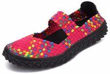 zapatos de elastico