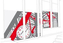 URBAN / créations de décors pour deux hôtels parisiens