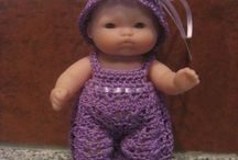 ropa de muñeca