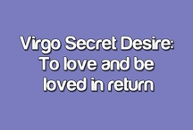 Zodiac: Virgo / Love and be loved