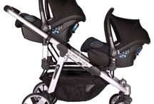 Double Trouble Twin Pram / Transport your babies in style with this modern, trendy and sophisticated travel system.