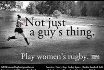 Saturdays a Rugby Day / by Alexx Hutton