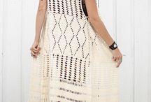 Crochet beachwear & vest / Beachwear