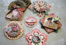 Toppers, tags and embellishments