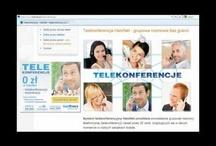 Telekonferencje / Telekonferencje HaloNet dają możliwość grupowych rozmów telefonicznych, w gronie nawet 30 osób.