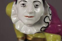 Pierot, harlekýn a klaun