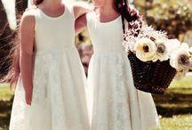 Bridesmaid / flower girls