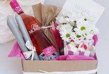 Geschenke mit Flaschen