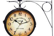 Decoração com relógios / Transformando sua decoração com relógios