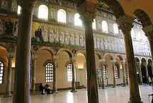 Basilicas / Basílicas construidas entre el siglo III y el siglo XIX
