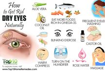Dry eyes remedies