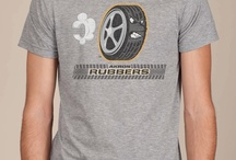 Akron Rubbers Awesome T-shirt  / Akron is the tire capitol of the U.S. so this funny t-shirt fits perfectly!
