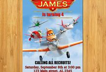 Cars and Planes Parties