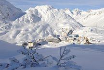 Skiing / Steder jeg har stått ski eller vil stå ski