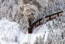 Trains-rails