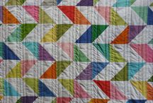 Quilts with solids... / Quilts using mainly solid colour fabrics / by Sue Reichardt