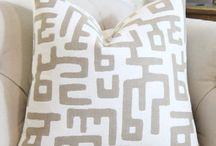 JC throw pillows
