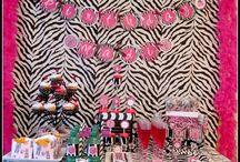 Pajama Glam Birthday Party