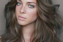 Centre Parting Hair Styles / Hair